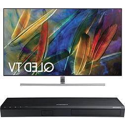 Samsung QN65Q7F Flat 65-Inch 4K Ultra HD Smart QLED TV w/ Sa