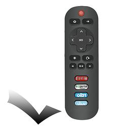 RC280 Remote Control for TCL Smart TV Rdio Vudu Netflix Amaz