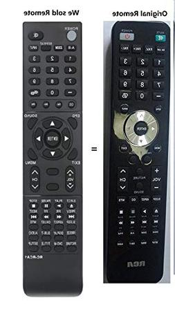 New RCA Replaced remote RC-RCA1 fit for RCA WD11452 WD12143