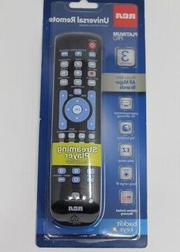 RCA RCRN03BR Universal Remote Control - For TV  Satellite Bo