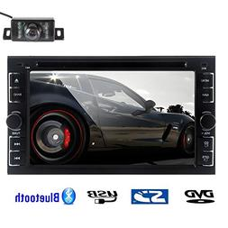 Rear Camera Included 2015 New Model 6.2-Inch Double-DIN in D
