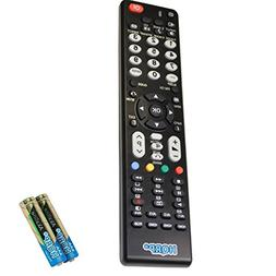 HQRP Remote Control for Hitachi 55HDS69 55HDT51 55HDT52 55HD