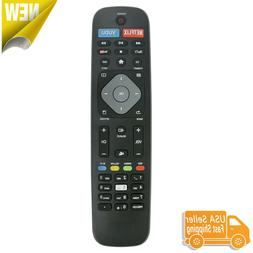Remote NH500UP Control for Philips 4K UHD Smart TV w Netflix