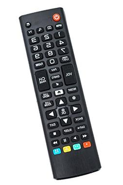 Replaced Remote Control Compatible for LG 43UH6030UD AKB7491