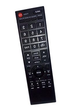 Replaced Remote Control Compatible for Toshiba 43L420U 19SL4
