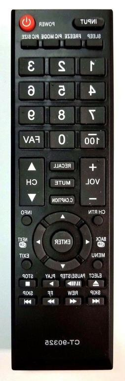 Toshiba Replacement Remote Control CT-90325 for 22av600u 19a