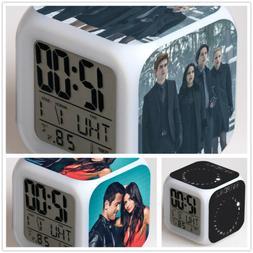 RIVERDALE TV Color LED Night light Digital Alarm Clock Best