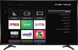 Sharp Roku 50 Inch Class LED Smart TV 2160P 4K UHD HDR HDMI