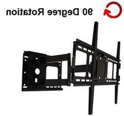 Rotating Portrait/Landscape Articulating TV Wall Mount for S