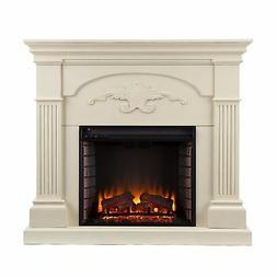 Southern Enterprises Electric Fireplace Tvsled
