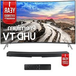 "Samsung UN65MU8500FXZA 65"" Curved 4K Smart LED TV  with Sams"