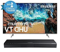 "Samsung UN82NU8000 Flat 82"" 4K UHD 8 Series Smart LED TV  BU"