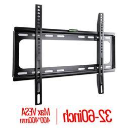 SLIM LCD LED PLASMA FLAT TV WALL MOUNT BRACKET 26 30 32 37 4