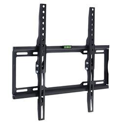 Tangkula Slim Tilt TV Wall Mount Bracket for LCD LED Plasma