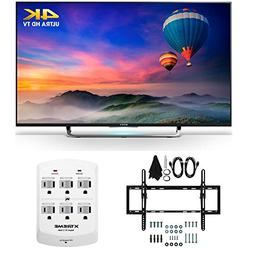 Sony XBR-43X830C - 43-Inch 4K Ultra HD Smart LED HDTV Flat &