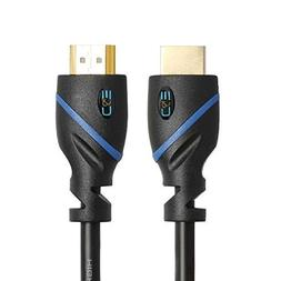 C&E 2 Pack High Speed HDMI Cable with Ethernet 8 Feet, Suppo
