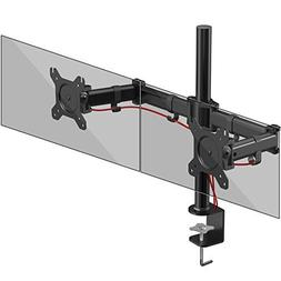 Duronic DM252 Dual PC Monitor Arm Stand Desk Mount Screen Br