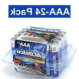 ACDelco AAA Super Alkaline Batteries in Recloseable Package,