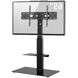 Swivel Floor TV Stand Mount for 32-65 inch LCD LED Flat/Curv