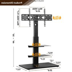 """Swivel Floor TV Stand with Mount for Most 32-65"""" LCD LED F"""