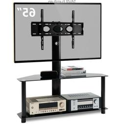 Swivel Floor TV Stand with Mount for 32-65 inch LCD LED Flat