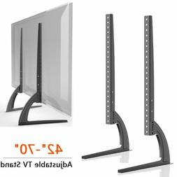 Table Top TV Stand Base Bracket Monitor Riser For 42-70 Sams
