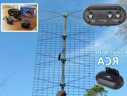 The Ultimate Outdoor TV Antenna with RCA Booster