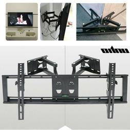 Tilt Swivel TV Corner Wall Mount Bracket LED LCD Monitor 32