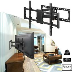 Tilting & Swivel Full Motion Two Articulating Arm TV Wall Mo