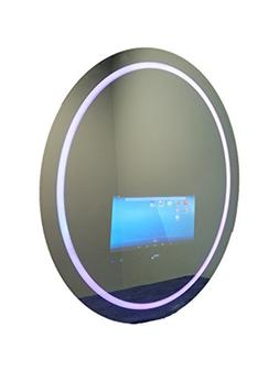 GlassTek Inc. Touch Screen Mirror with Smart TV; Touch Scree