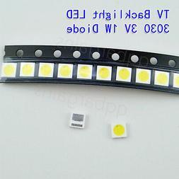 TV Backlight LED Diode Hitachi SMD 3030 3V 1W CoolWhite LED