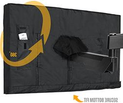Outdoor TV Cover 40 - 43 Inch LED Flatscreen TV With Bottom