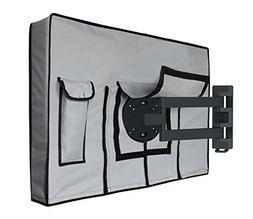 "Outdoor TV Cover - 55"" – 58"" | FREE Microfiber Cloth |"