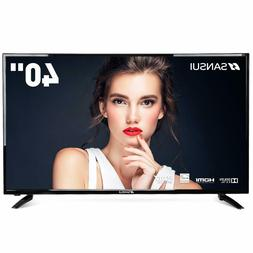 SANSUI TV LED Television 40'' FHD DLED TV  with Flat Screen