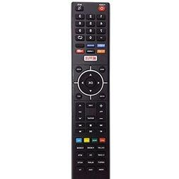 New TV Remote fit for Element 4K Smart E4SJ5516H ELEFJ322S E