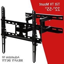"""KUPPET TV Wall Mount Tilt Bracket for Most 22""""-55"""" LCD LED P"""