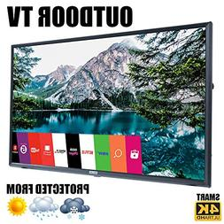 """Outdoor TV 55"""" Weatherproof Television Compatible with LG 4K"""