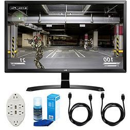 "LG  27"" 4K UHD IPS Freesync Gaming Splitscreen LED Monitor w"