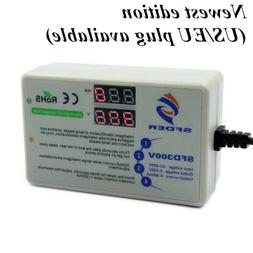 Ultra-bright LED Intelligent Tester with Current and Voltage