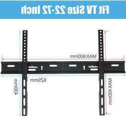 Ultra Slim Flat TV Wall Mount Bracket Easy Hanger Stand fr 3