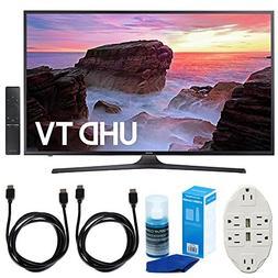 """Samsung UN43MU6300 43"""" 4K Ultra HD Smart LED TV  w/Accessori"""