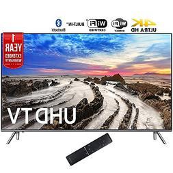 """Samsung UN82MU8000 82"""" UHD 4K HDR LED Smart HDTV  + 1 Year E"""