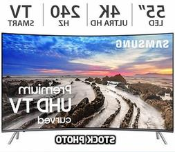 "SAMSUNG UN55MU850DF 55"" inch CURVED 4K Ultra HD 120Hz Smart"