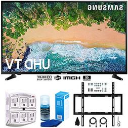 "Samsung UN55NU6900 55"" NU6900 Smart 4K UHD TV  w/Wall Mount"