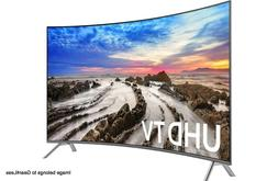 "Samsung UN65MU8500 65"" Curved Smart LED 4K Ultra HD TV w/ HD"