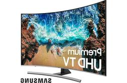 "Samsung UN65NU8500 2018 65"" Curved Smart LED 4K Ultra HD TV"