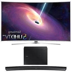Samsung UN78JS9100 Curved 78-Inch 4K Ultra HD Smart LED TV w