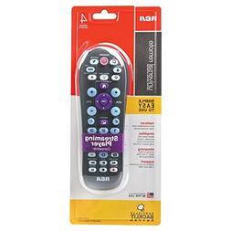 RCA Universal 4-Device Big Button Universal Remote with Stre