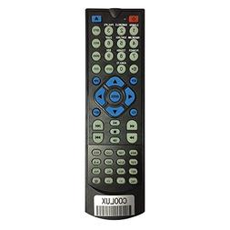 Coolux Universal DVD Player Remote Control for Most Brand DV