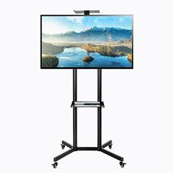 Universal Mobile TV Cart For LCD LED Plasma Flat Panel Stand